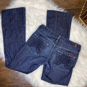 7FAMK A pocket bootcut jeans